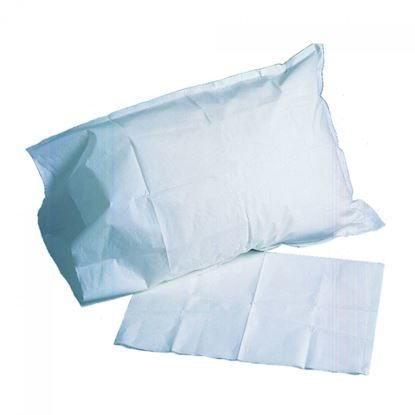 "Pillow Case, 21"" x 30"", Poly-Back, Blue, 100/Case"