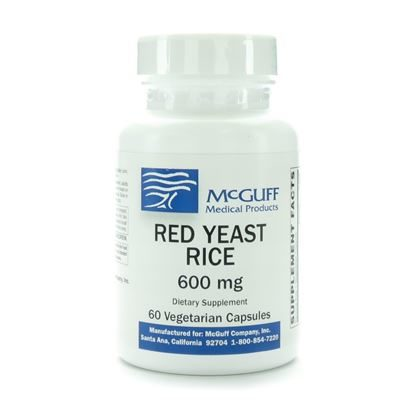 Red Yeast Rice  600mg  Vegicaps  60Bottle