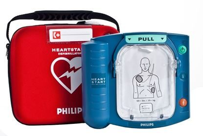 Defibrillator, Automatic Phillips HeartSmart® OnSite® w/Voice Prompts, Each