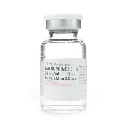 Nalbuphine HCl , 20mg/mL, MDV, 10mL Vial