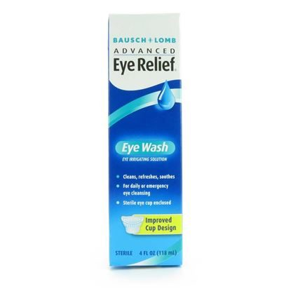 Eyewash, Eye Relief Irrigating Solution, 4oz, Each