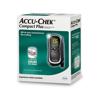 Blood Glucose Meter, ACCU-CHEK® Compact Plus, Each