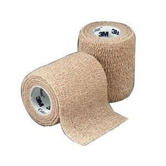 Bandage Coban 2 x 5 yards SelfAdherent Tan Each
