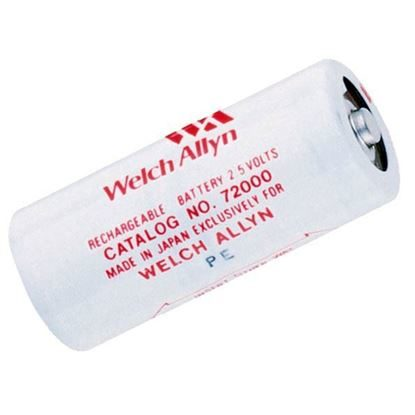 Battery, Rechargable, 2.5V Ni-Cad, Each