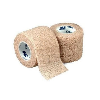 "Bandage, Coban™ 1"" x 5 yards, Self-Adherent, Tan, 5 rolls/Package"