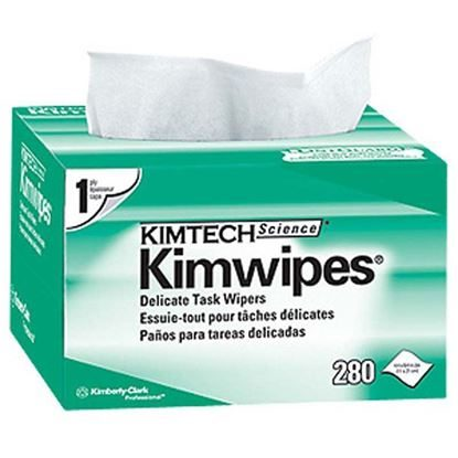 "Wipes, Equipment, 4.5"" x 8.5"", Extra-Large, Kimwipes™, 280/Box"
