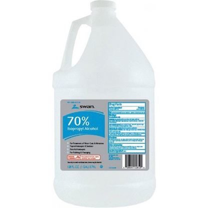 Alcohol, Isopropyl  70%    (Rubbing)    1 Gallon