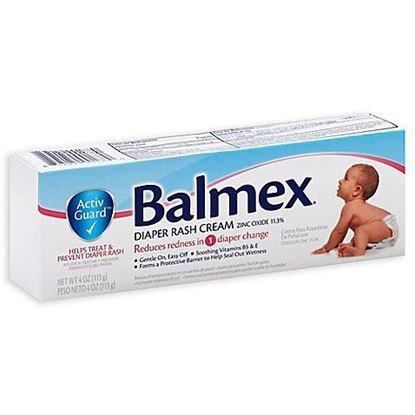 Balmex Diaper Rash Cream, 4 Ounce Tube