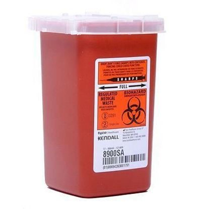 Sharps Collector, Phlebotomy, 1 Quart, Autodrop™, Each