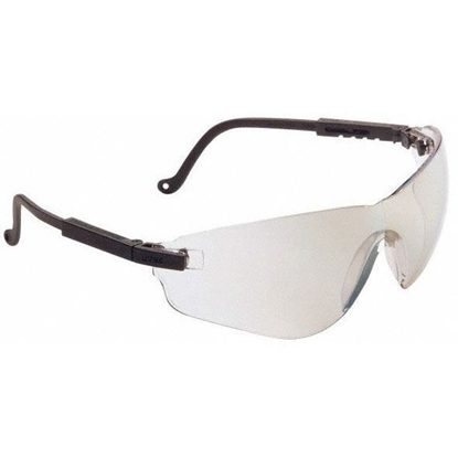 Eyewear, Protective, Black Frame, SCT® Reflect 50 Mirror Lens, New Frameless Design, Ultra-dura® Hard Coat Coating, Falc