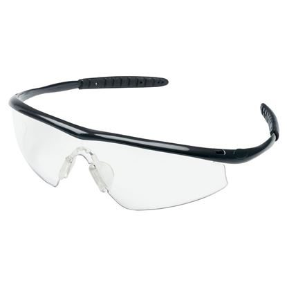 Eyewear, Protective, Onyx Frame, Clear Lens, Duramass® Hard Coat Coating, Tremor®, Each