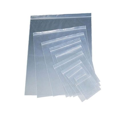 "Bags, 4"" x 6"" 2mil, Clear w/Blue ""Refrigerate"", Locking Seal, 10x100/Box"