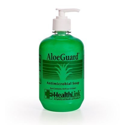 AloeGuard Antimicrobial Soap,  PCMX w/Aloe Vera  18oz Pump Bottle