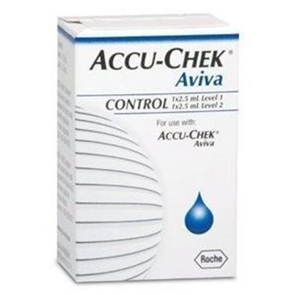 Accu-Chek Aviva  Control Solution   2/Box