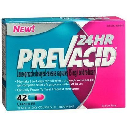 Prevacid OTC  15mg Unit-Dose  Capsules  42/box