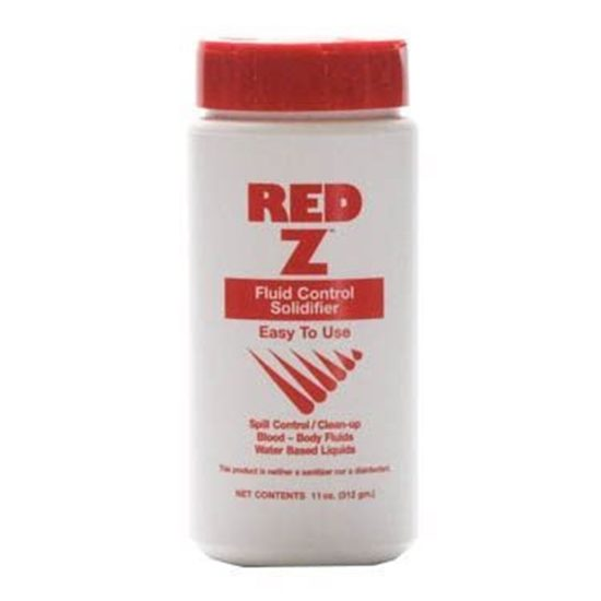Absorbent for Blood Body Fluids Spills RedZ Powder Shaker Top 8 oz Each