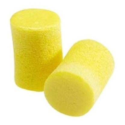 Ear Plugs, Foam, Yellow, EAR Classic, Without Cord, Reusable, One Size Fits All, 200 Pairs/Box