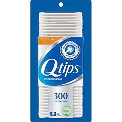 "Q-Tips Cotton Swabs, Double-Ended Non-Sterile 3.25"" 300/Box"