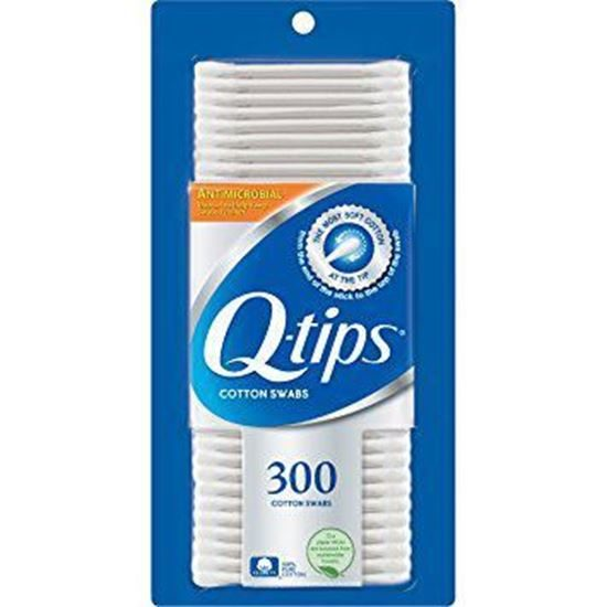 QTips Cotton Swabs DoubleEnded NonSterile 325 300Box
