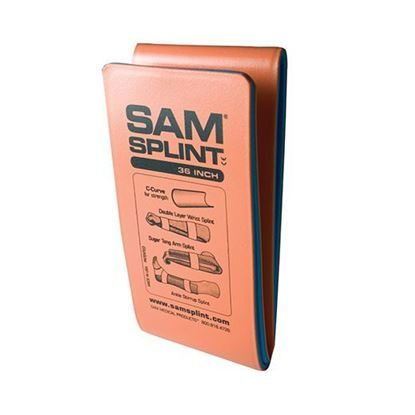 "Sam Splint, Orange/Blue,  4 1/4"" x 36"",  Bendable, General Purpose, Each"