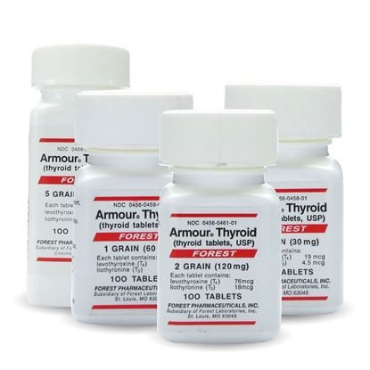 Thyroid, Armour®, 100 Tablets/Bottle