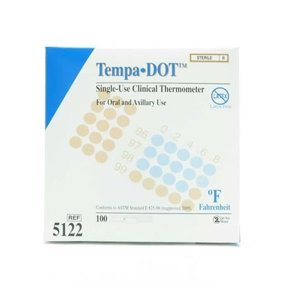 Thermometer, Tempa·DOT™, Disposable, 100/Box