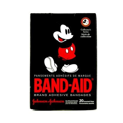 Bandage, Cartoon Mickey Mouse, Plastic, 20/Box
