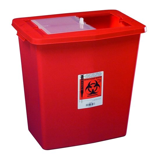 Sharps Collector 12 Gallon Red Each
