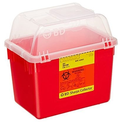 Sharps Collector,   2 Gallon/8 Quart, Nestable, Each