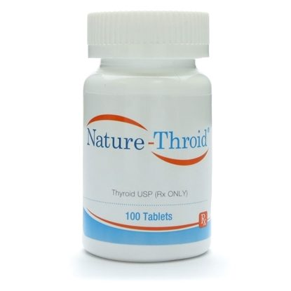Nature-Throid®, 100 Tablets/Bottle