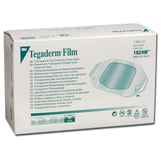 Dressing Transparent 2 38 x 275 Sterile LatexFree  Tegaderm 100Box