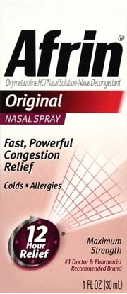 Afrin® (Oxymetazoline), Nasal Spray, 30mL Bottle