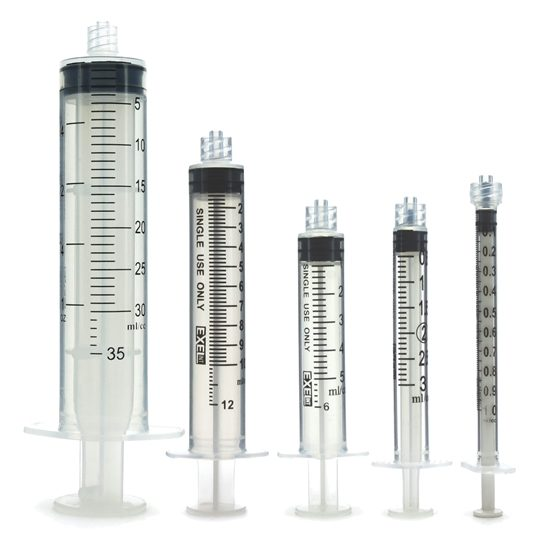 Exel Syringes No Needle Luer Lock