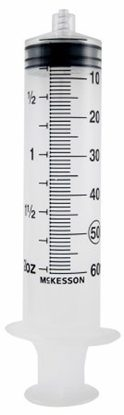 60cc Syringe, Luer Lock, No Needle, Sterile, 25/Box