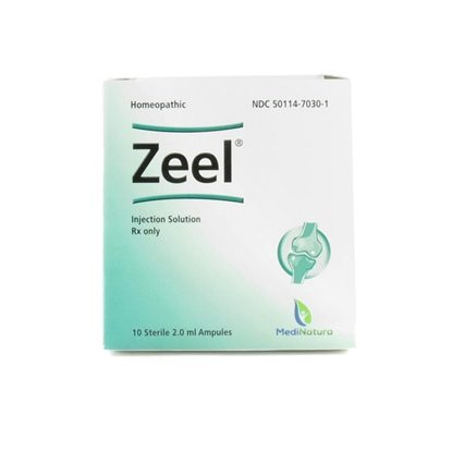 Zeel® Homeopathic Injection,  2mL Ampules,  10 ampules/Tray