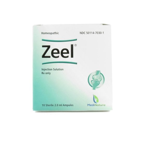 Zeel Homeopathic Injection  2mL Ampules  10 ampulesTray