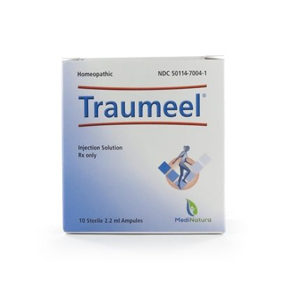 Traumeel Homeopathic Injection,  2.2mL Ampules,  10 ampules/Tray
