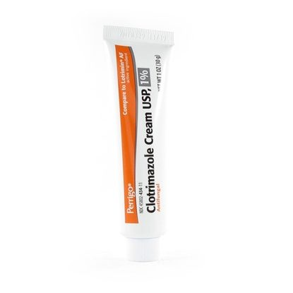 Clotrimazole, 1%, Cream, 1oz Tube