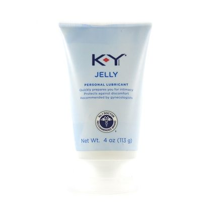 K-Y® Jelly, 4 Ounce Tube
