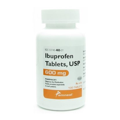 Ibuprofen, 600mg, 100 Tablets/Bottle