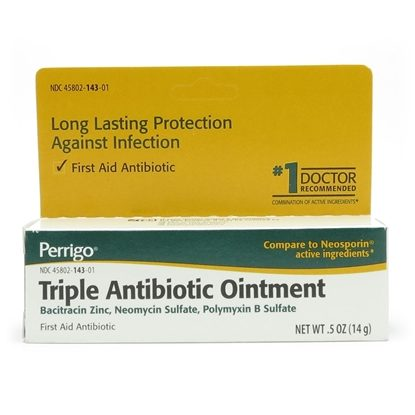 Triple Antibiotic, Ointment, 0.5 Ounce Tube