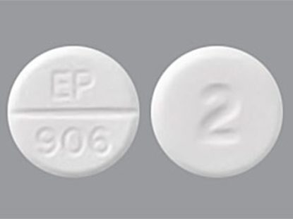 Lorazepam [C-IV], 2mg, 100 Tablets/Bottle