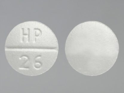 Verapamil HCl, 80mg, 100 Tablets/Bottle