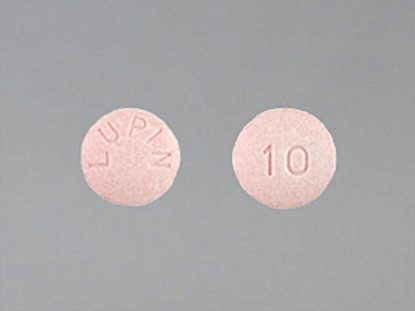 Lisinopril, 10mg, 100 Tablets/Bottle
