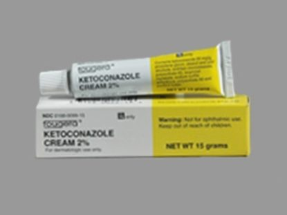 Ketoconazole, 2%, Cream, 15gm/Box