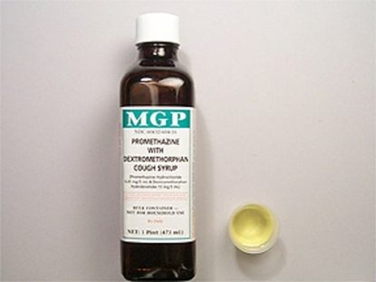 Promethazine DM Cough Syrup,  6.25mg/15mg,  16oz Bottle