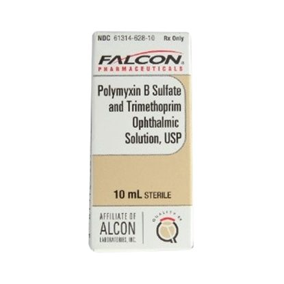 Trimethoprim Sulfate/Polymyxin-B Ophthalmic  Drops   10mL/Bottle