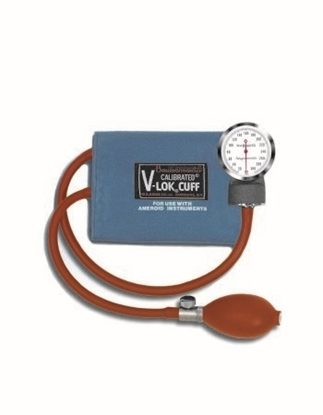 Sphygmomanometer, Pocket Aneroid, Adult, Calibrated V-Lok and Case - Discontinued