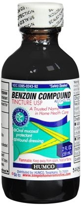 Benzoin, Compound Tincture, 2oz, Each