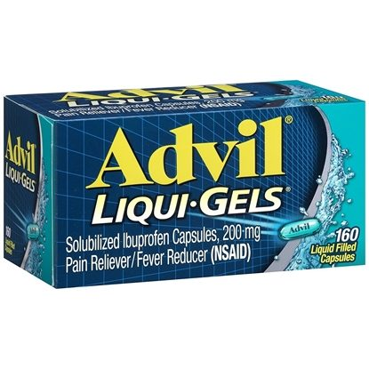 Advil®, Liqui-Gels 200mg, 160 Liqui-Gels/Bottle